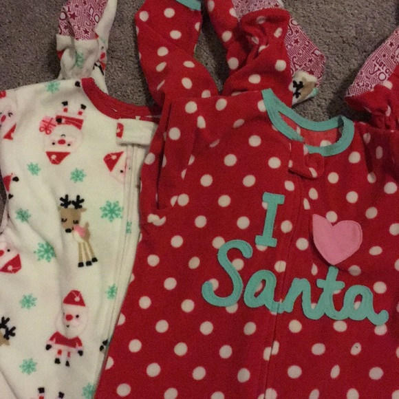 49bd8a710c Carter s Other - 6 Christmas Onesies